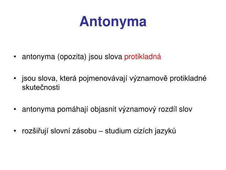 Antonyma