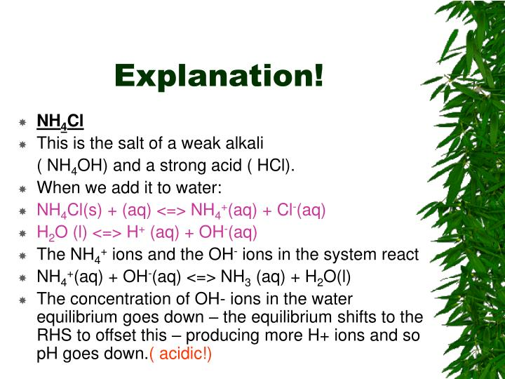 Explanation!