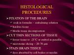 histological procedures