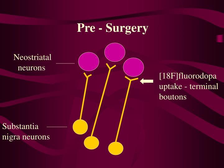 Pre - Surgery