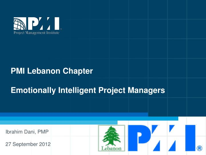 PMI Lebanon Chapter