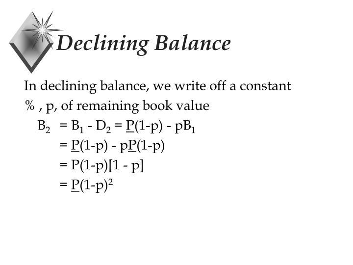 Declining Balance