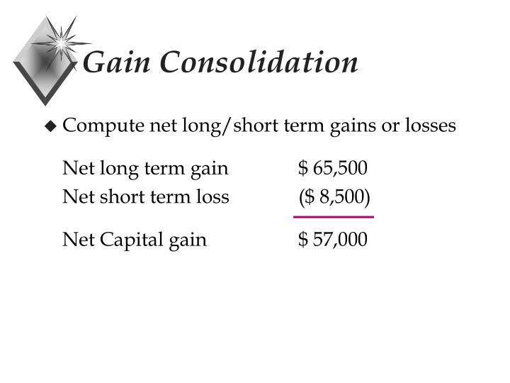 Gain Consolidation