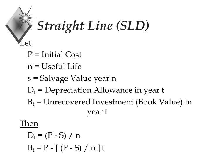 Straight Line (SLD)