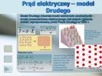 pr d elektryczny model drudego