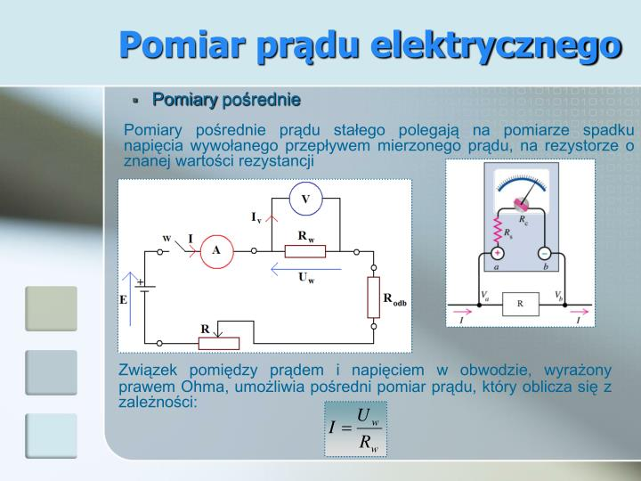Pomiar prądu elektrycznego