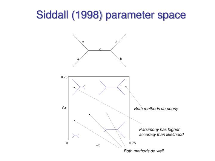 Siddall (1998) parameter space