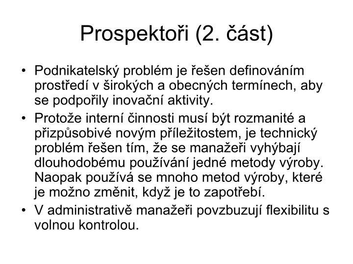 Prospektoři (2. část)