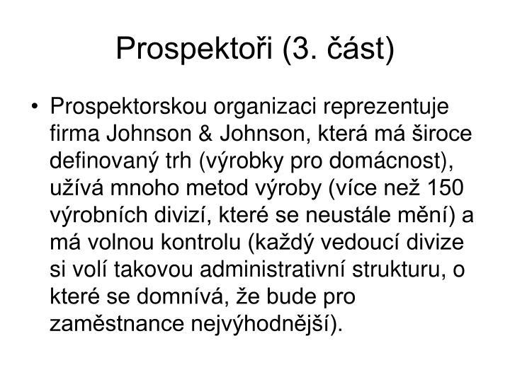 Prospektoři (3. část)
