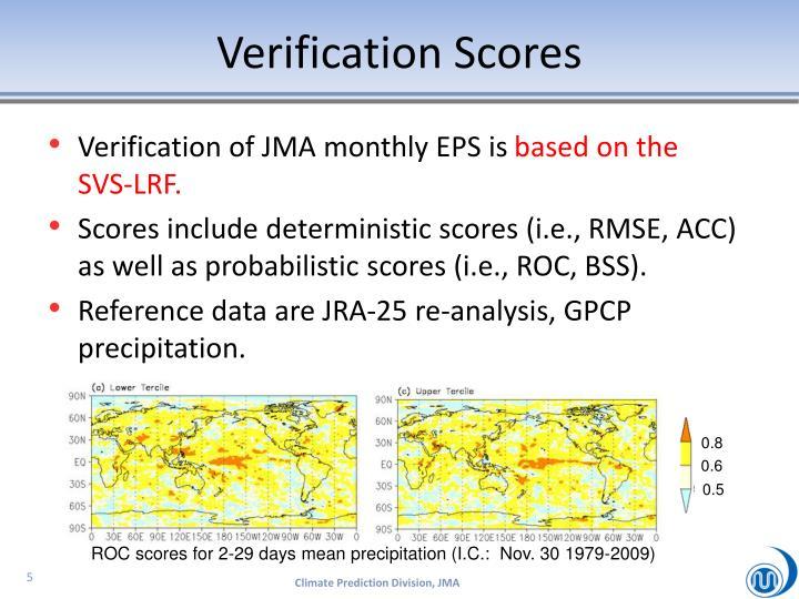 Verification Scores