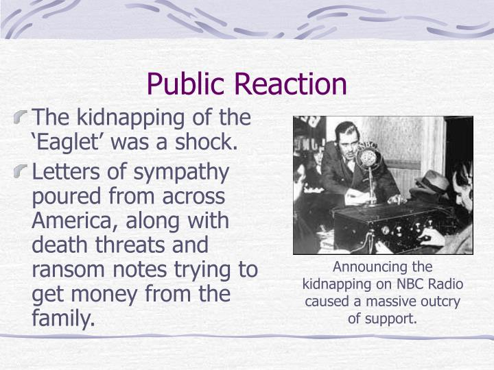 Public Reaction