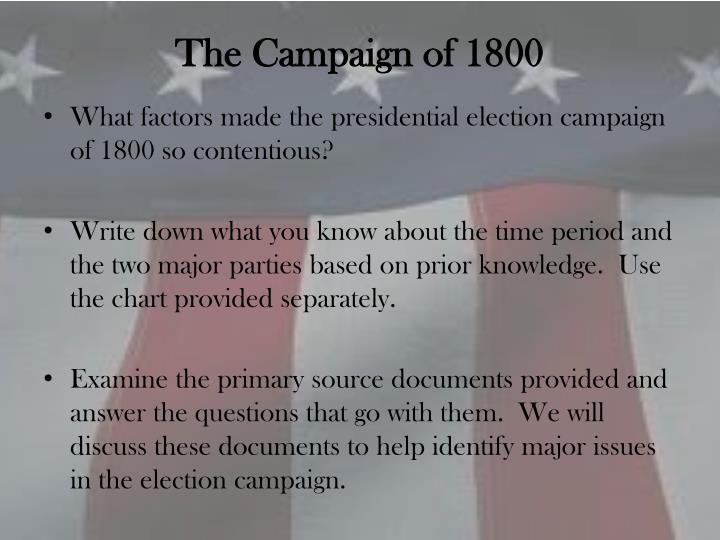 The campaign of 1800