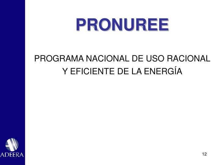 PRONUREE