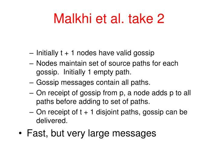 Malkhi et al. take 2
