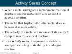 activity series concept