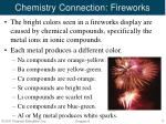 chemistry connection fireworks