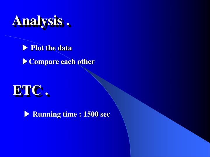 Analysis .