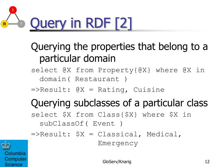 Query in RDF [2]