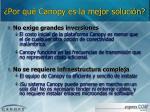 por qu canopy es la mejor soluci n1