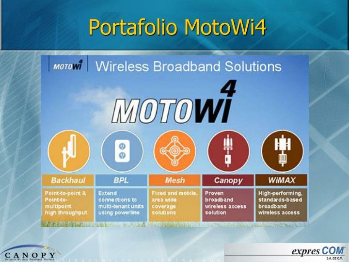 Portafolio MotoWi4