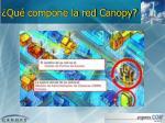 qu compone la red canopy