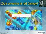 qu compone la red canopy1