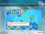 qu compone la red canopy2