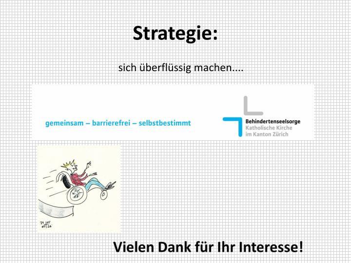 Strategie: