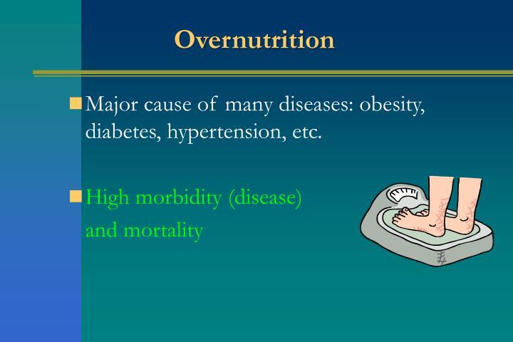 Overnutrition