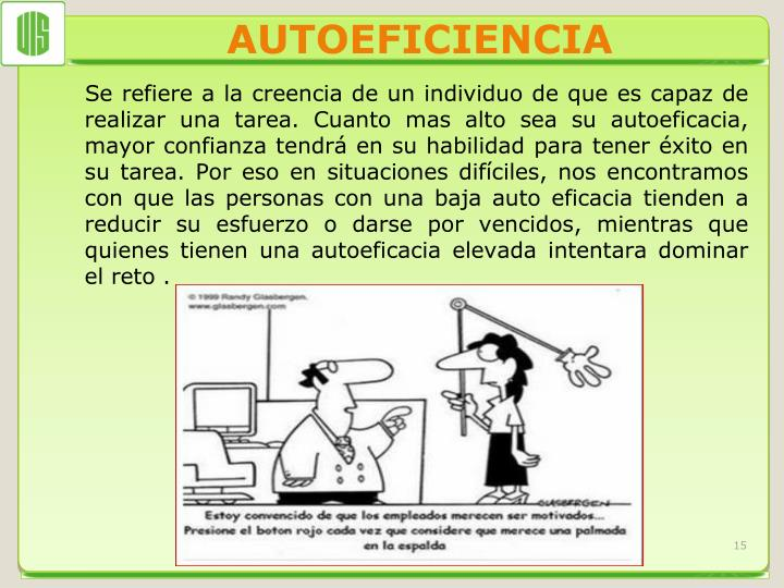 AUTOEFICIENCIA