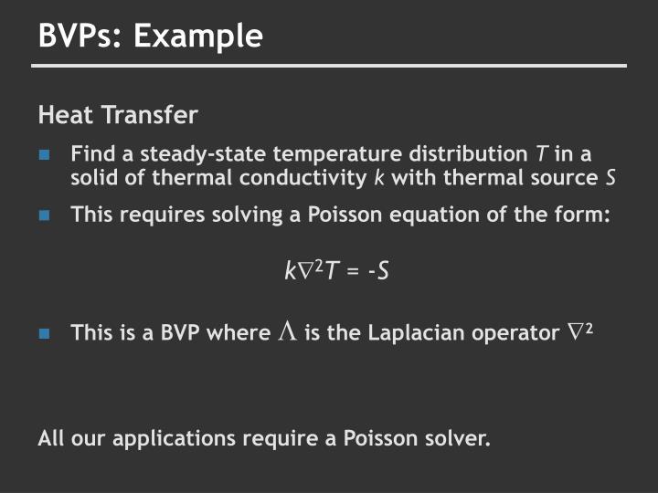 BVPs: Example