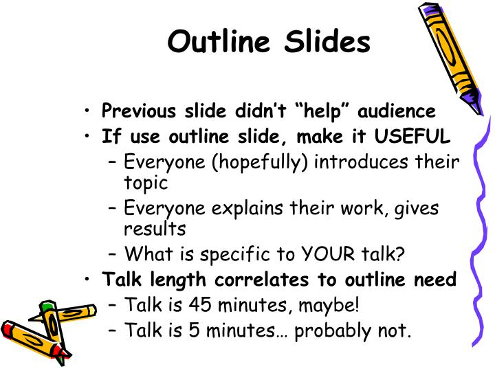 Outline Slides
