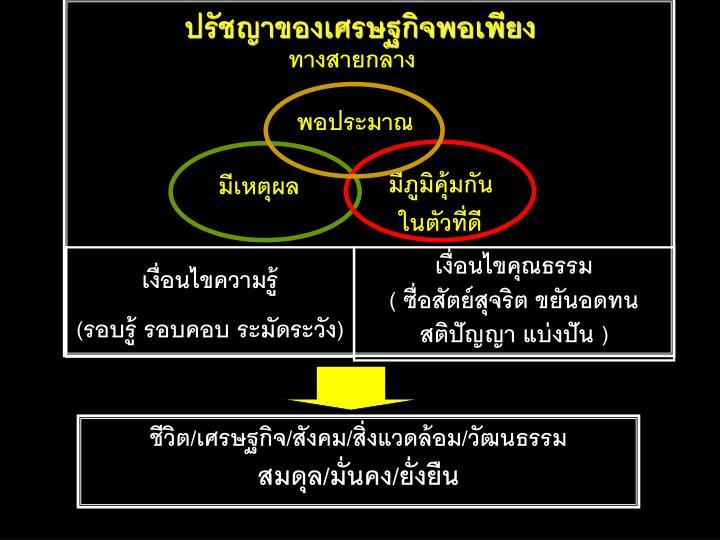 ทางสายกลาง