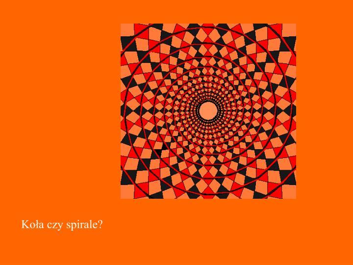 Koła czy spirale?
