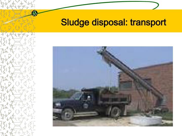 Ppt Wastewater Sludge Treatment Amp Disposal Powerpoint