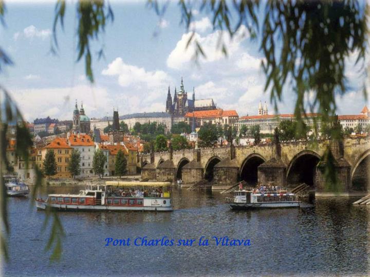 Pont Charles sur la Vltava