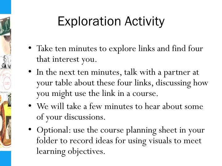 Exploration Activity