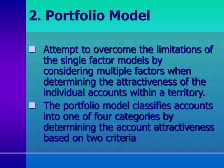 2. Portfolio Model
