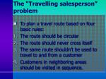 the travelling salesperson problem1