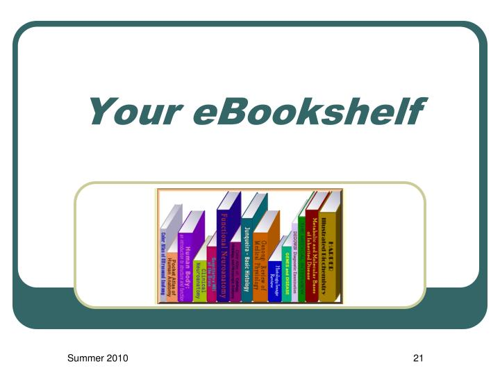 Your eBookshelf