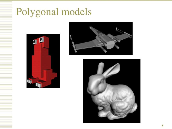Polygonal models