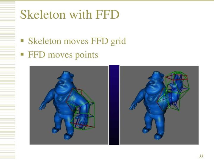 Skeleton with FFD