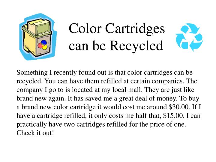 Color Cartridges