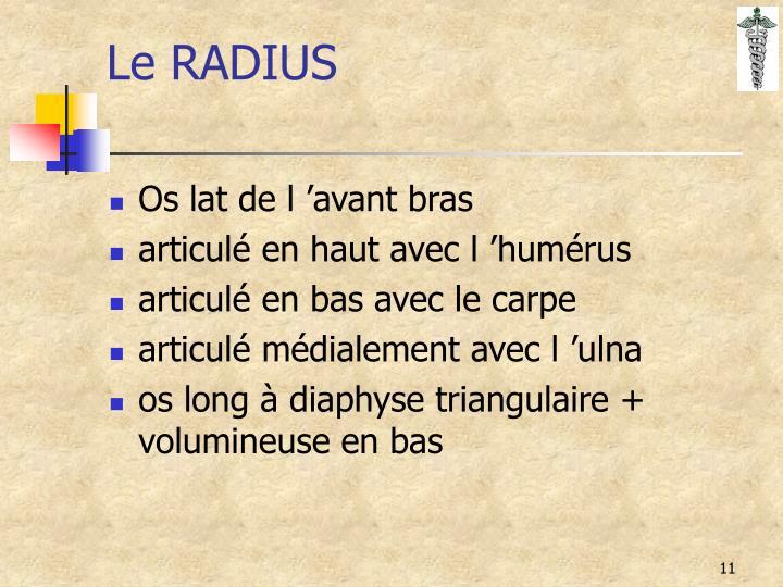 Le RADIUS