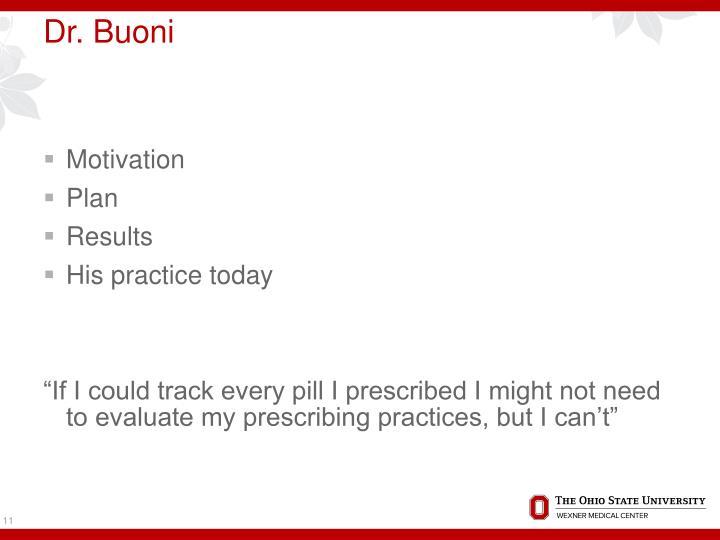 Dr. Buoni
