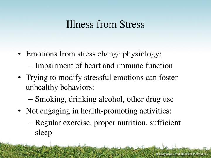 Illness from Stress
