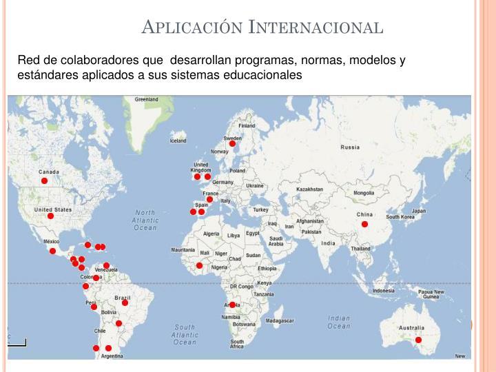 Aplicación Internacional