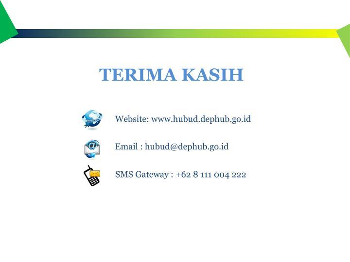 SMS Gateway : +62 8 111 004 222