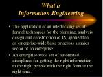 what is information engineering