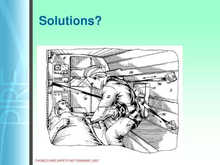 Solutions?